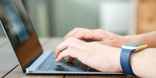 ブログ記事を作成