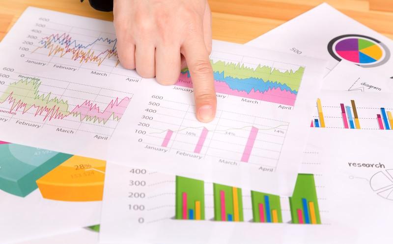 業務効率を行うためのグラフ