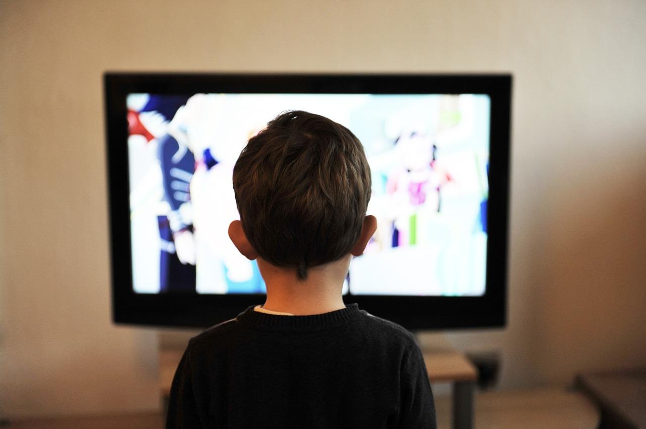 テレビ、受け身、TV、情報